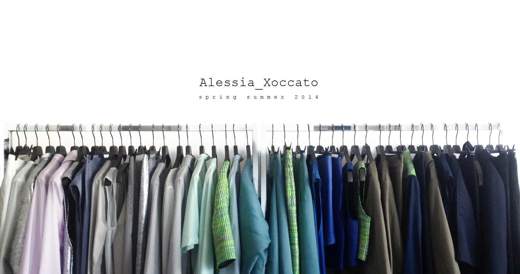 Alessia Xoccato AX-SS14-presentation.jpg