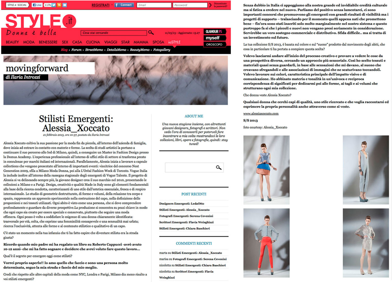 Alessia Xoccato 2012_04_Style.it_ 2012
