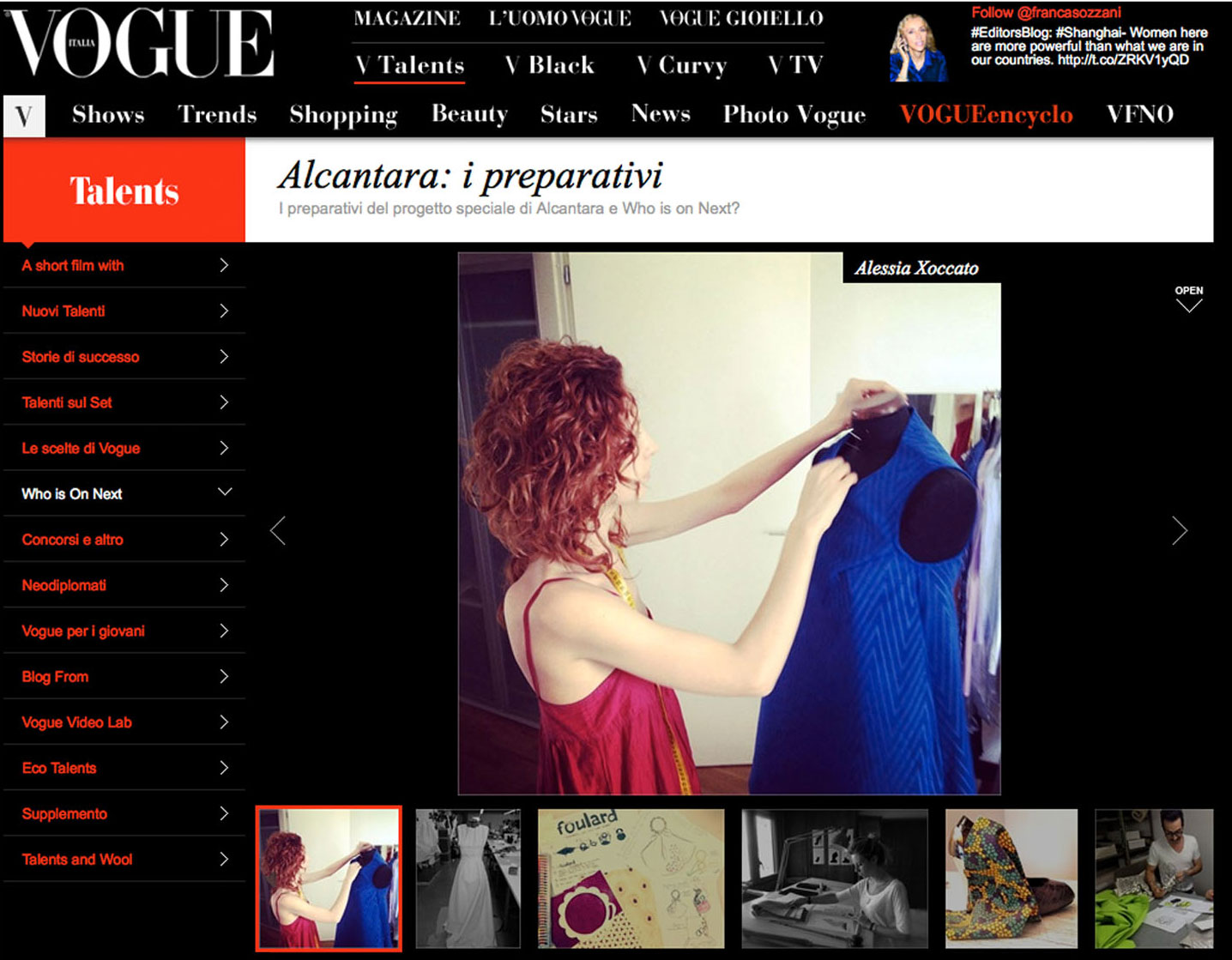 Alessia Xoccato 2012_05_Vogue.it-2 2012   Alessia Xoccato 2012_05_Vogue.it-3 2012   Alessia Xoccato 2012_05_Vogue.it_ 2012   Alessia Xoccato 2012_07_Vogue.it-2 2012   Alessia Xoccato 2012_07_Vogue.it-3 2012   Alessia Xoccato 2012_07_Vogue.it-4 2012   Alessia Xoccato 2012_07_Vogue.it-5 2012   Alessia Xoccato 2012_07_Vogue.it-7 2012