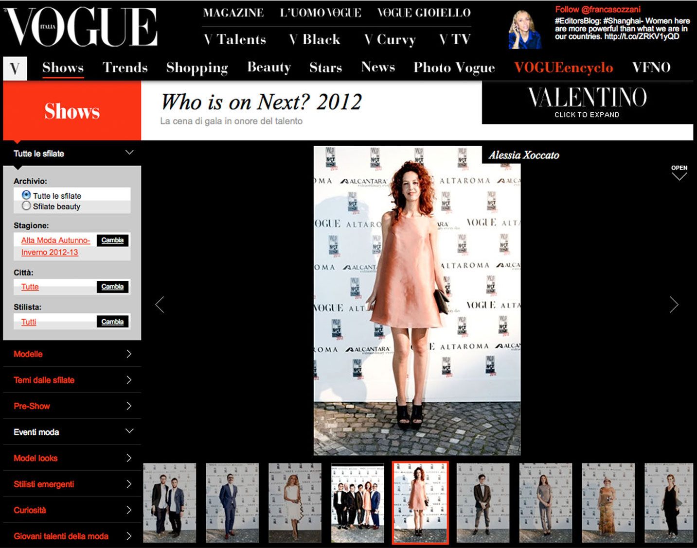 Alessia Xoccato 2012_05_Vogue.it-2 2012   Alessia Xoccato 2012_05_Vogue.it-3 2012   Alessia Xoccato 2012_05_Vogue.it_ 2012   Alessia Xoccato 2012_07_Vogue.it-2 2012   Alessia Xoccato 2012_07_Vogue.it-3 2012   Alessia Xoccato 2012_07_Vogue.it-4 2012   Alessia Xoccato 2012_07_Vogue.it-5 2012   Alessia Xoccato 2012_07_Vogue.it-7 2012   Alessia Xoccato 2012_07_Vogue.it-8 2012